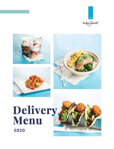 Delivery menu Cover
